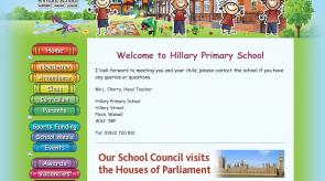 Hillary Primary MyEduWebsite